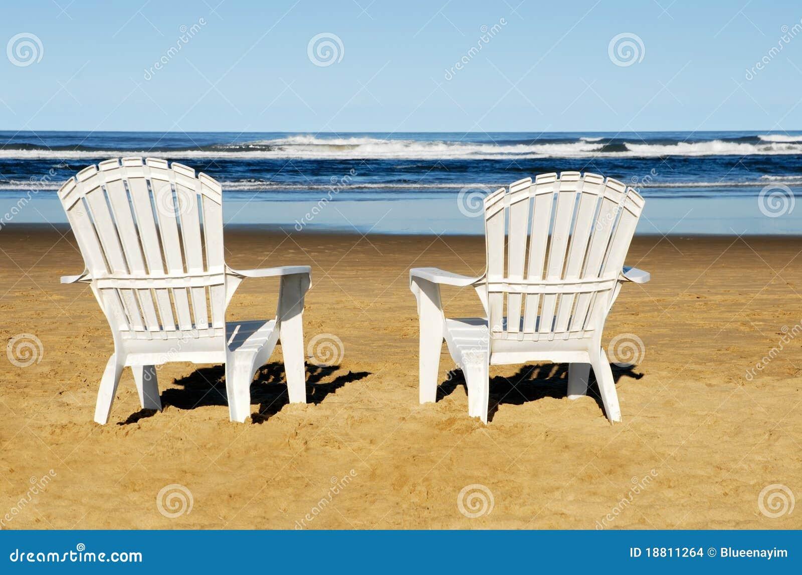 Sillas de playa foto de archivo imagen de resto recurso - Silla para la playa ...