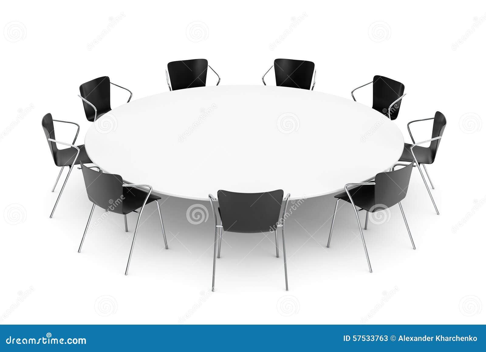 Mesa redonda con sillas stunning mesa redonda nori patas for Comedor redondo ampliable