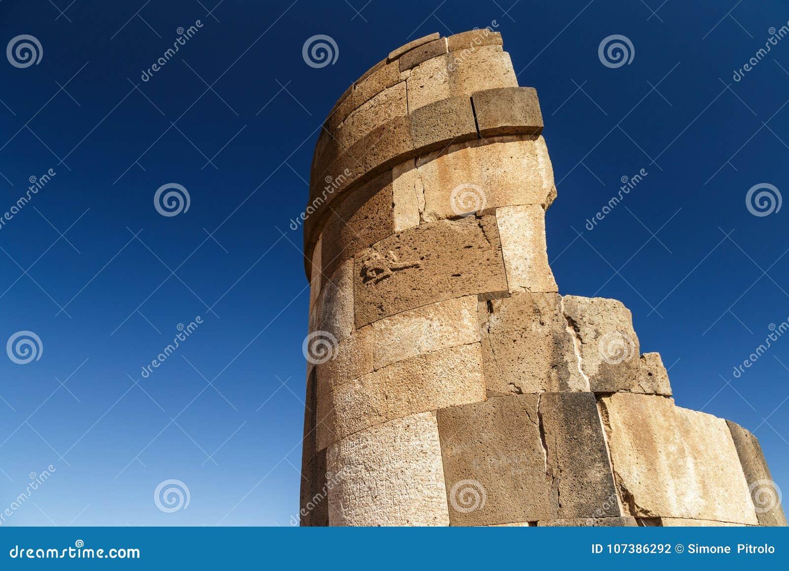 Sillustani arkeologisk kyrkogård, Peru