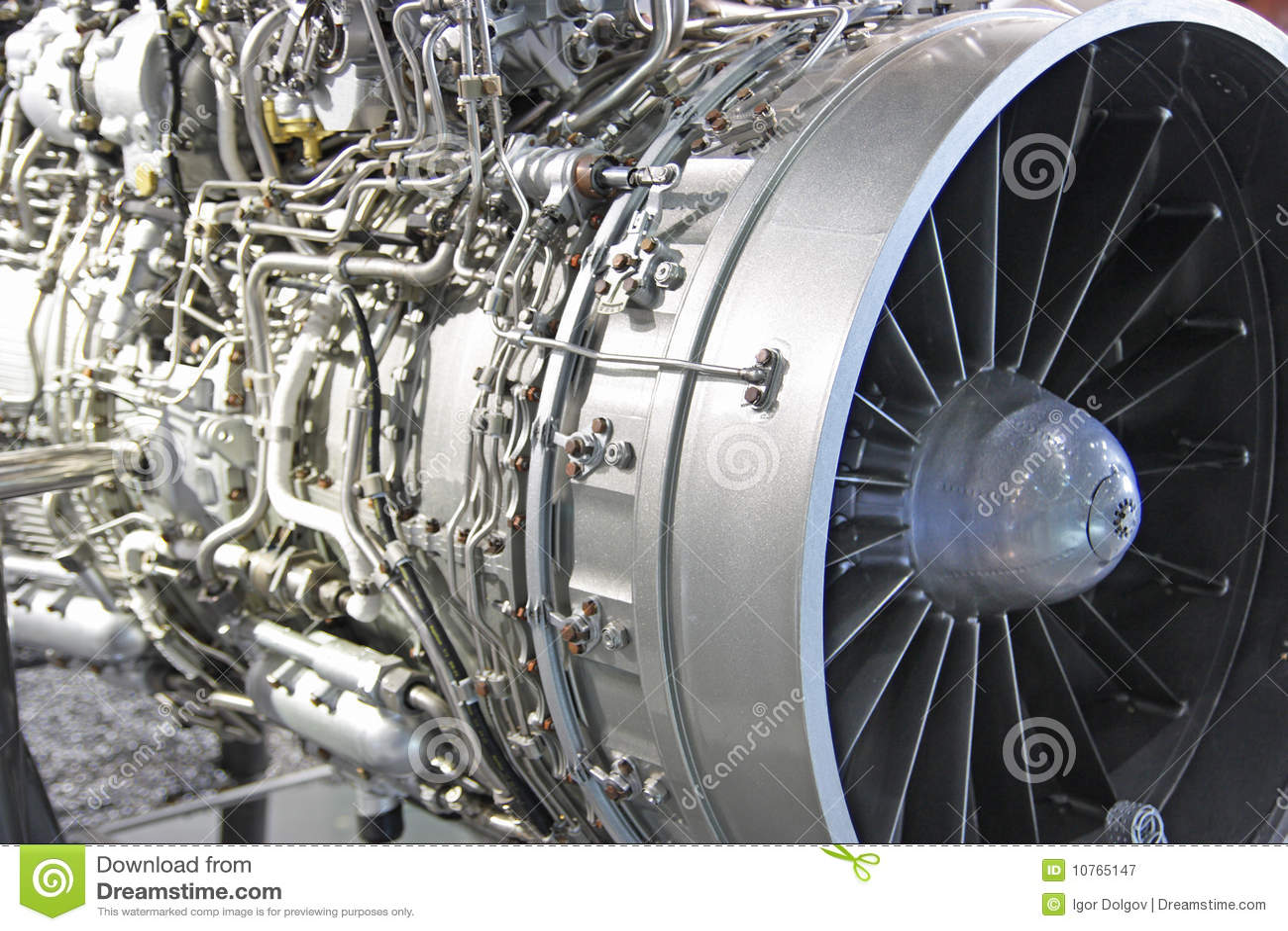 Silnik dżetowy Turbo