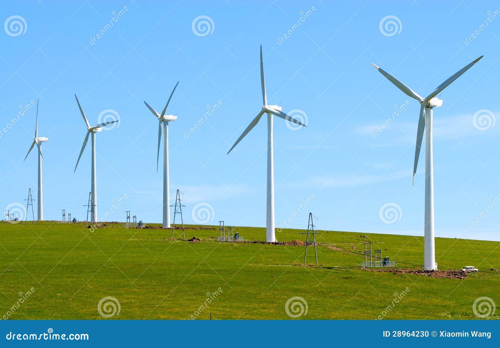 Silnik wiatrowy