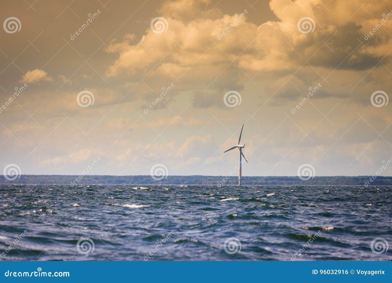 Silnika wiatrowego gospodarstwo rolne w morzu bałtyckim, Dani
