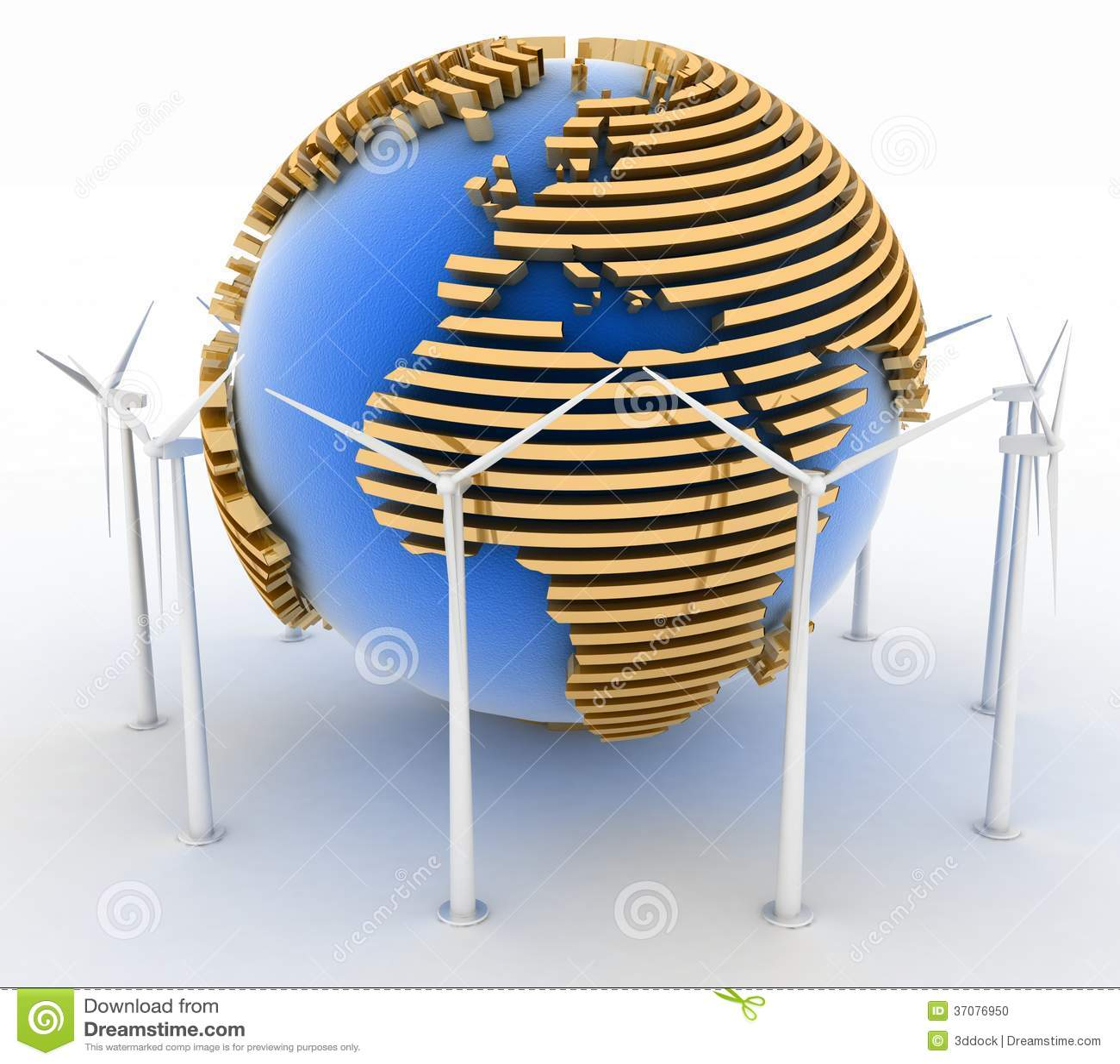 Download Silniki Wiatrowi I Ziemia. Alternatywnej Energii Pojęcie. Ilustracji - Ilustracja złożonej z alternatywa, tło: 37076950