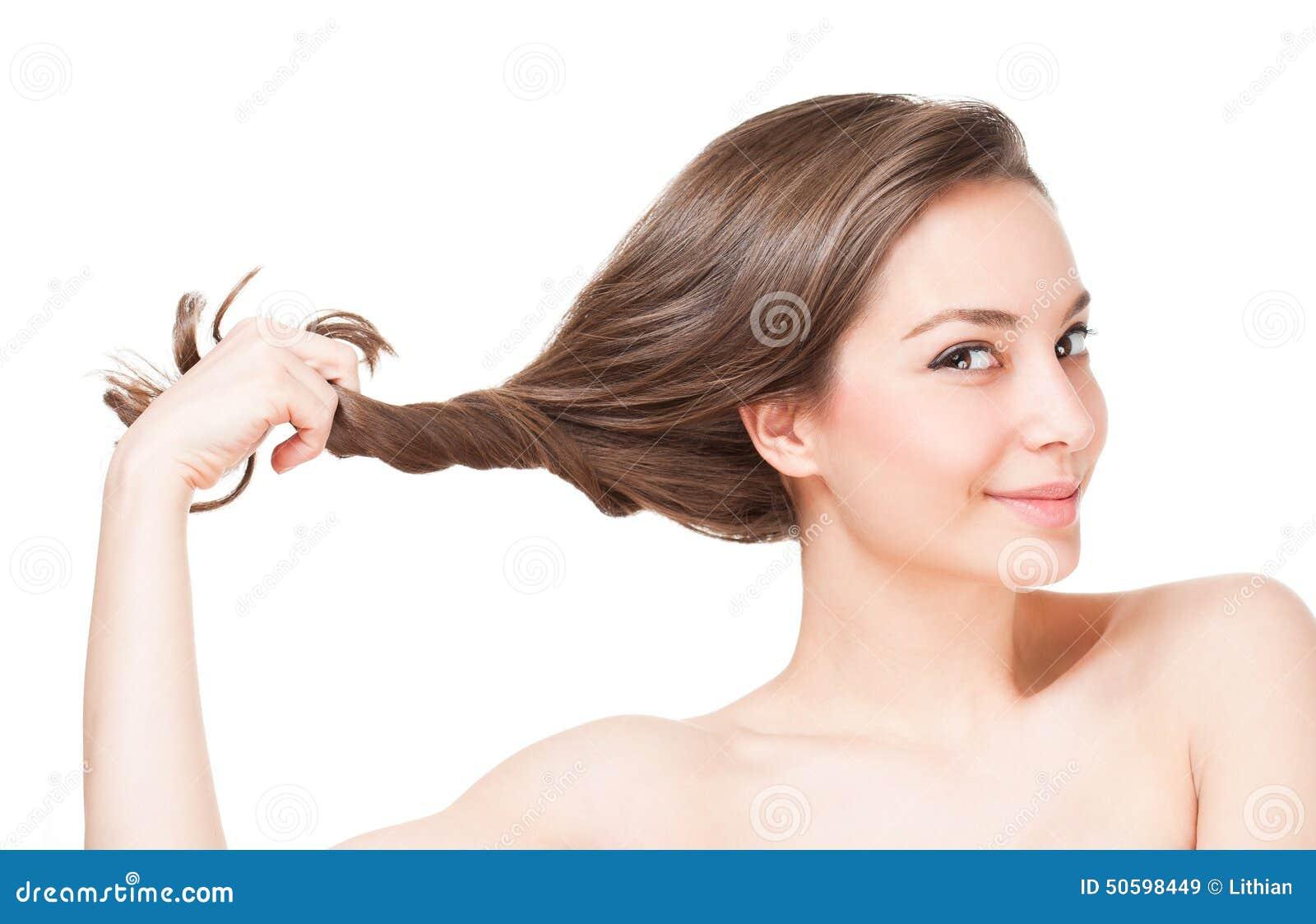 Silny zdrowy włosy