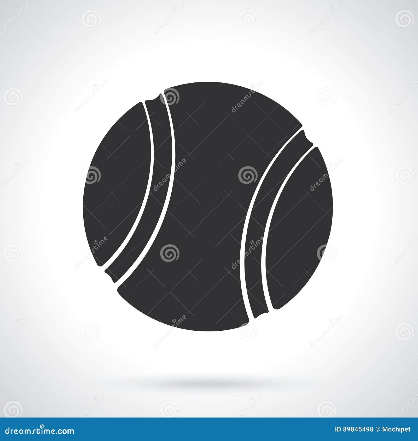 Tenis pelota stock de ilustracion ilustracion libre de stock de - Silueta De La Pelota De Tenis Ilustraci N