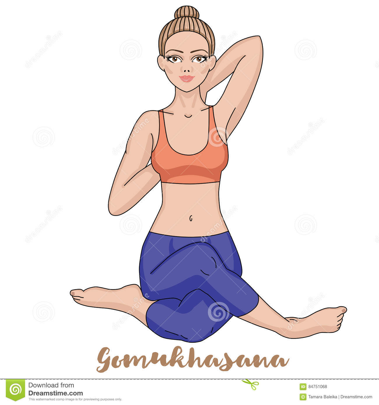 Gomukhasana With Image
