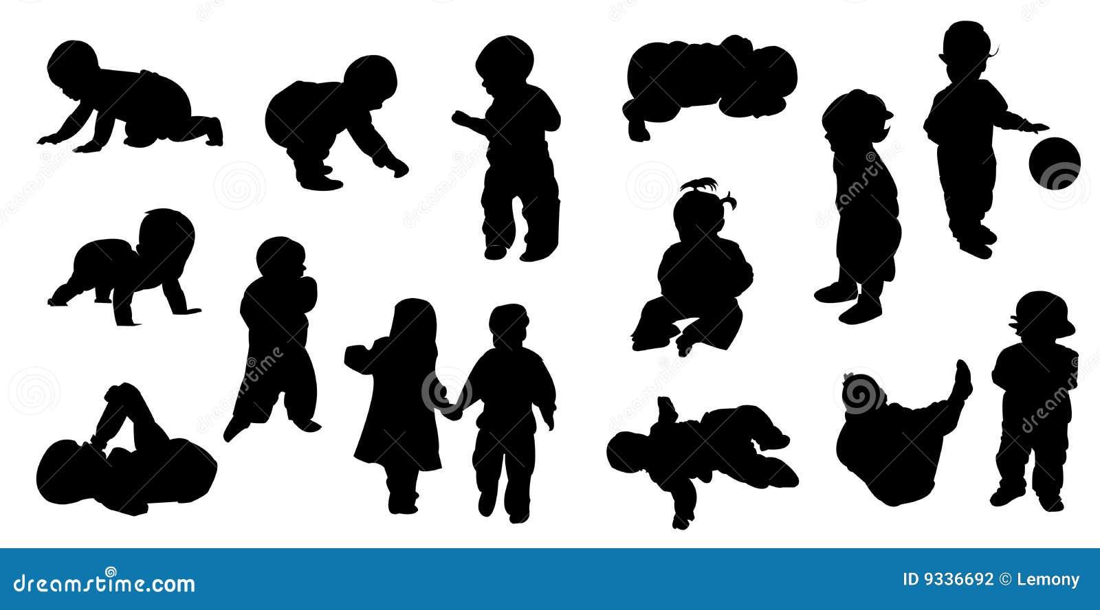 Bebé Ilustración Del Vector. Ilustración De