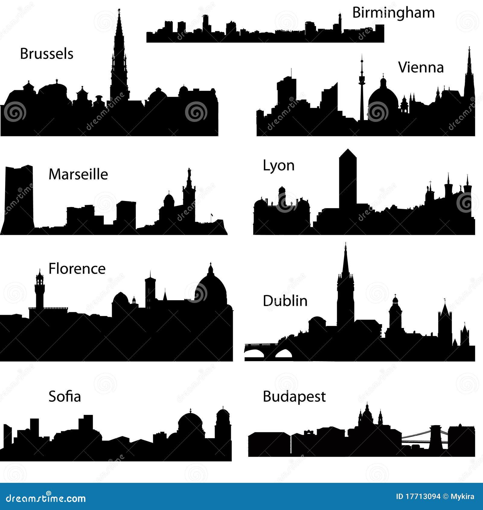 las industrias europeas: