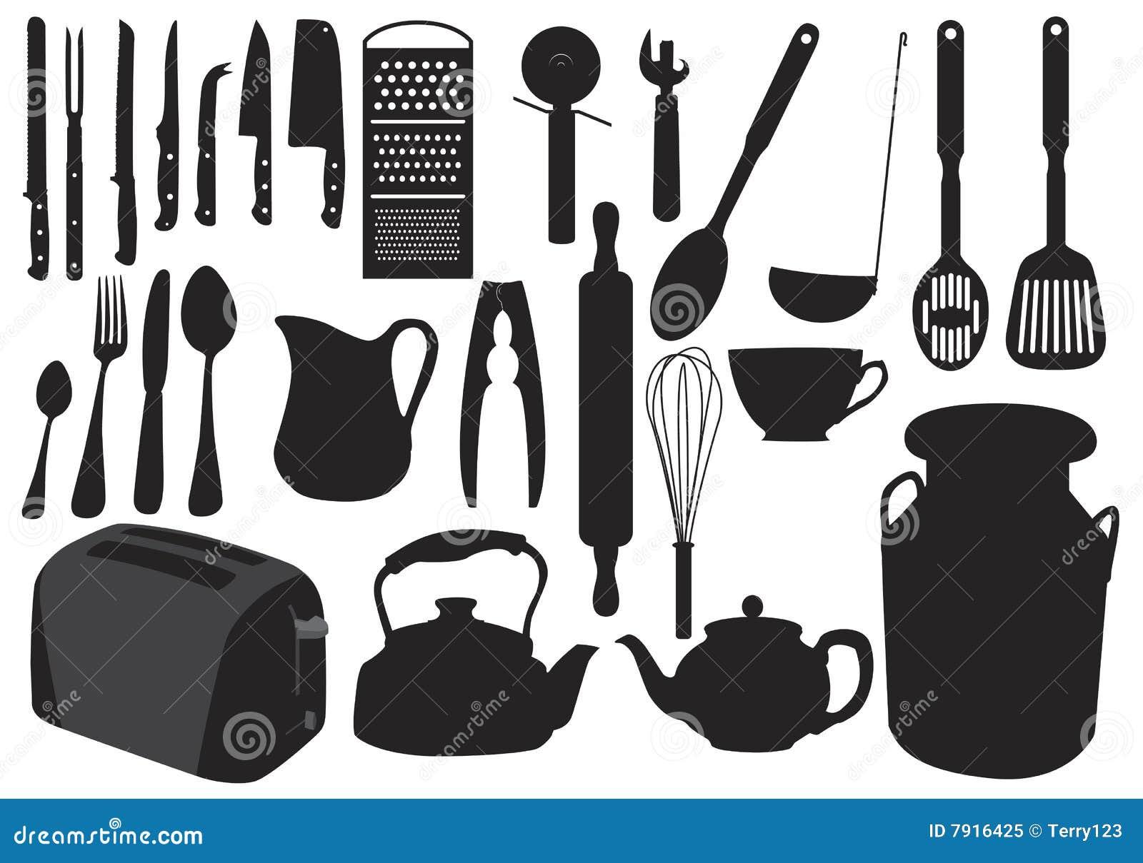 Siluetta dell articolo da cucina
