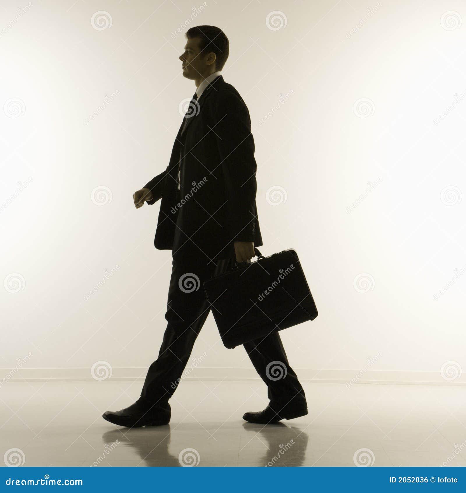 Siluetta dell uomo d affari