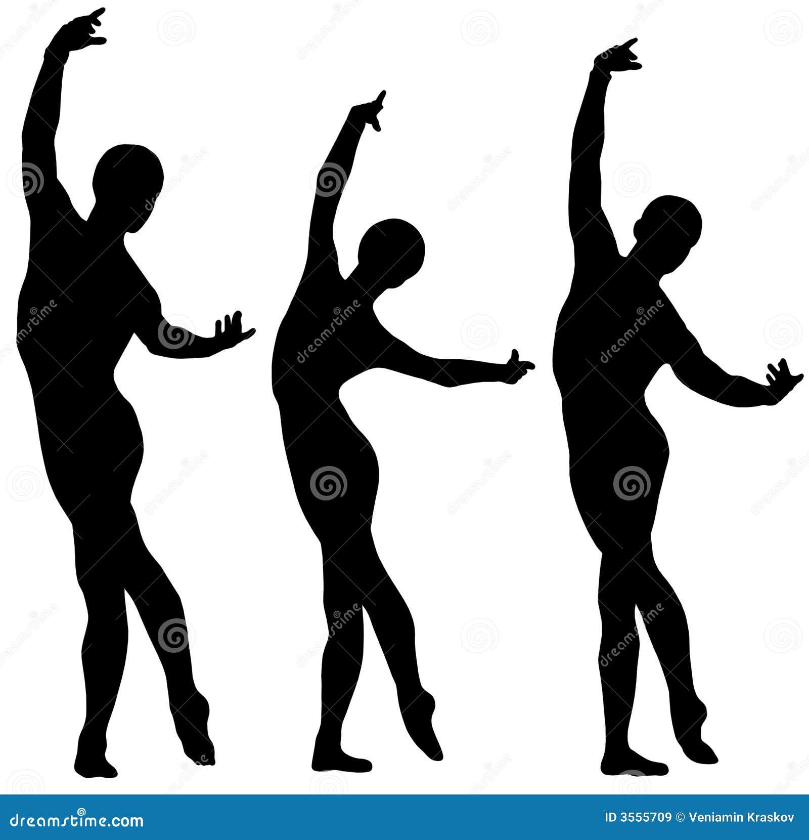 Siluette di balletto