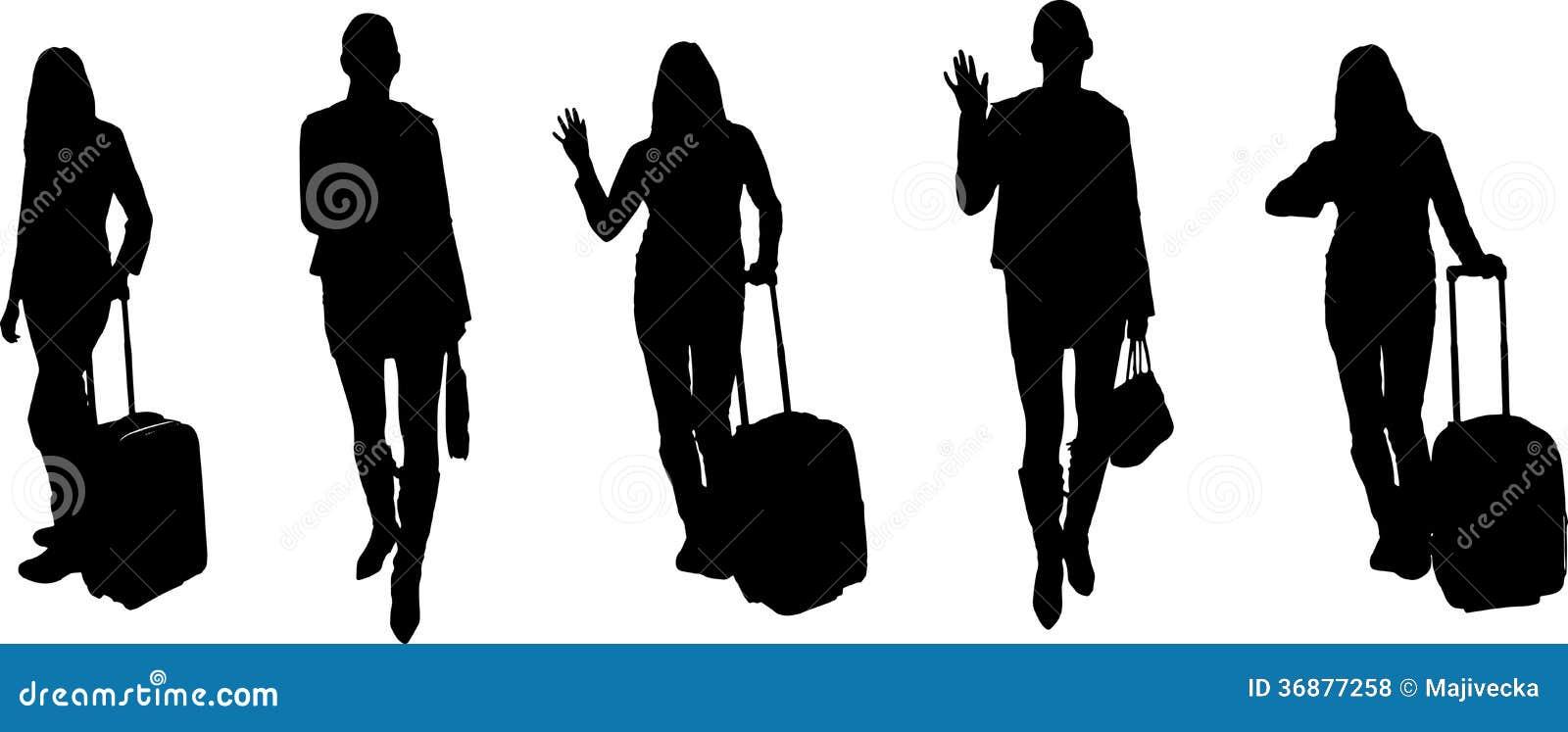 Download Siluette Di Vettore Delle Persone Di Affari Illustrazione Vettoriale - Illustrazione di background, icona: 36877258