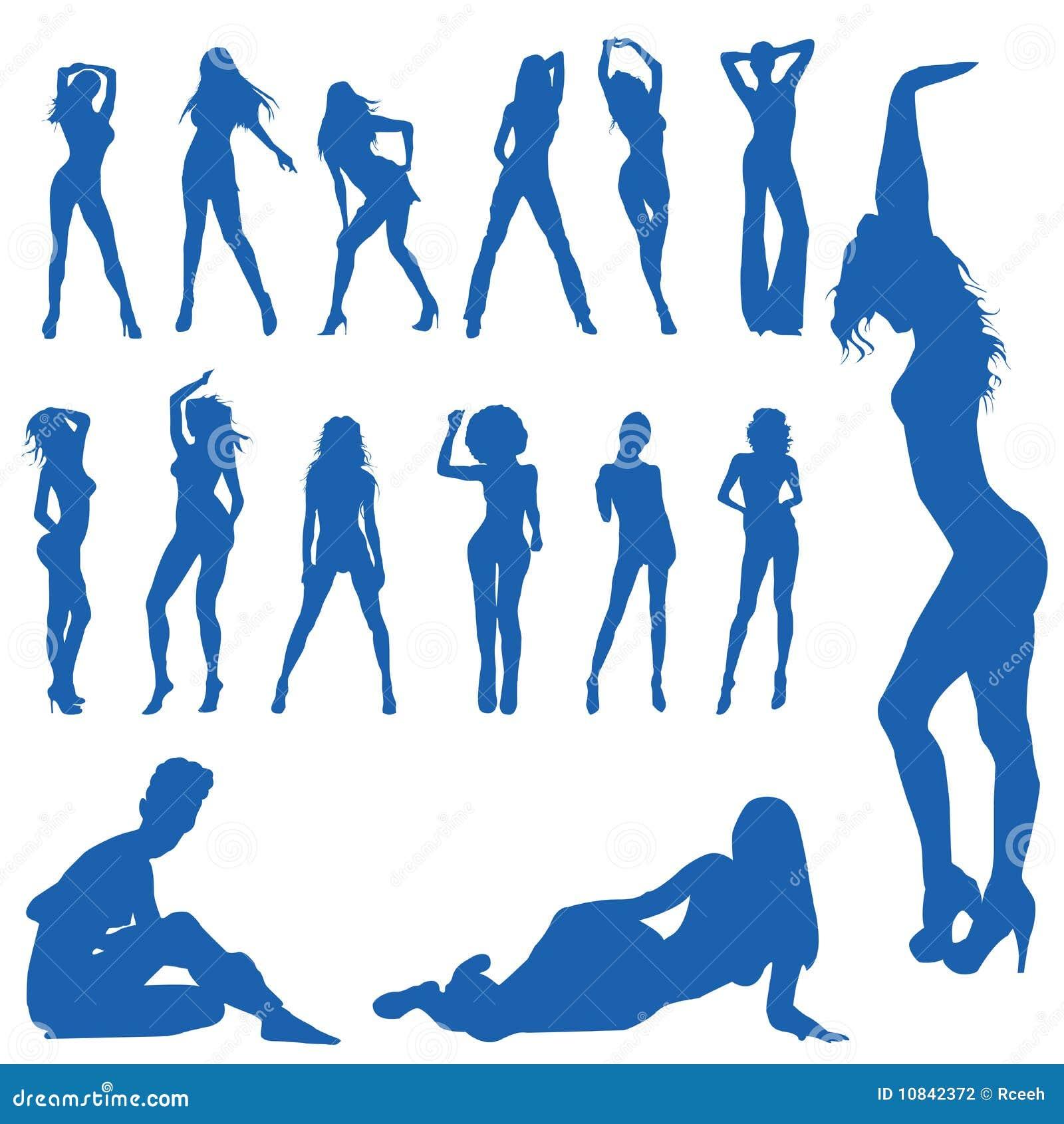 Ben noto Delle donne stilizzate foto stock - Iscriviti Gratis VG78