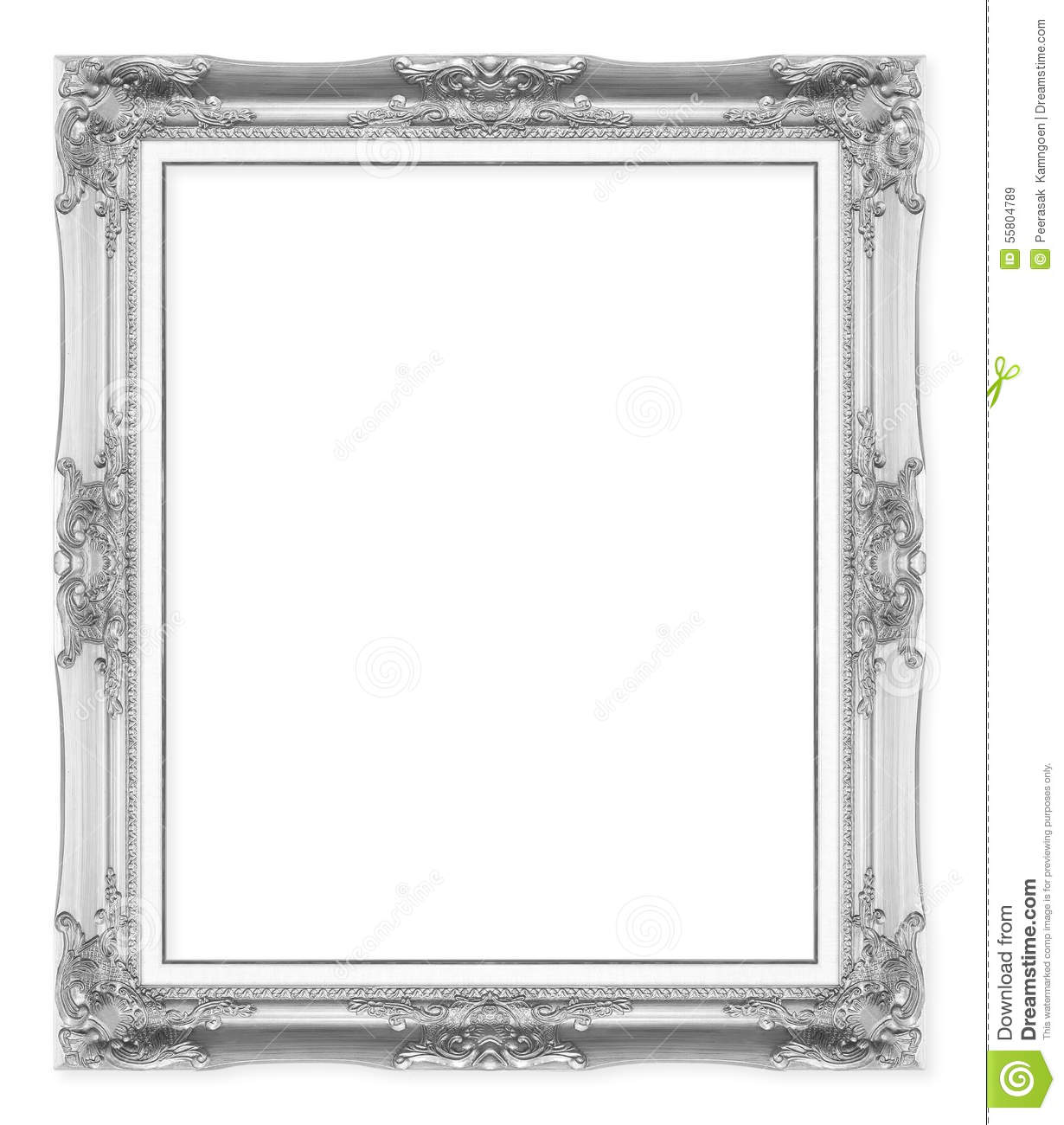 Silver Antique Picture Frames images