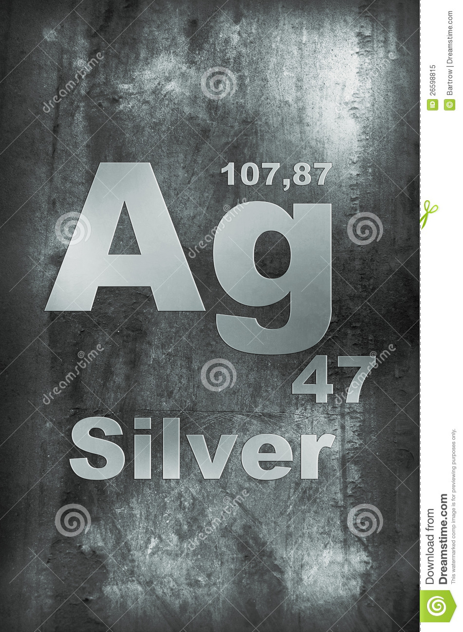 Silver argentum stock image image of element table 26598815 royalty free stock photo buycottarizona