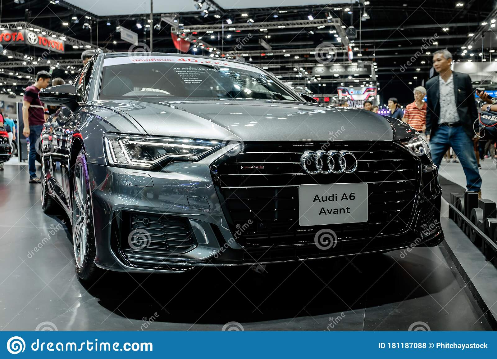 The Silver Audi A6 Avant 55tfsi Quattro S Line Showcase At Thailand Motor Expo 2019 Editorial Stock Photo Image Of Beautiful Motorshow 181187088