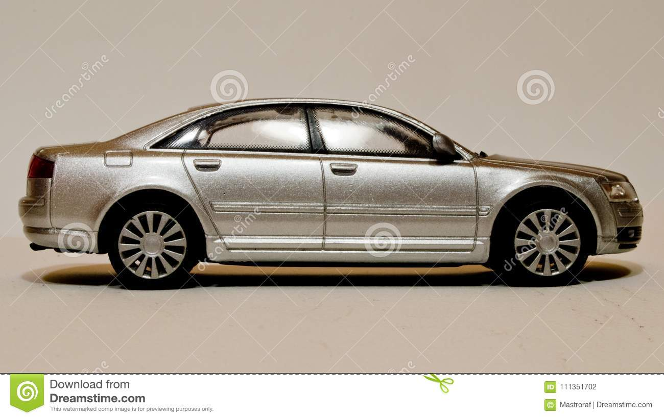 Audi A8 1:43 model editorial photography  Image of auto
