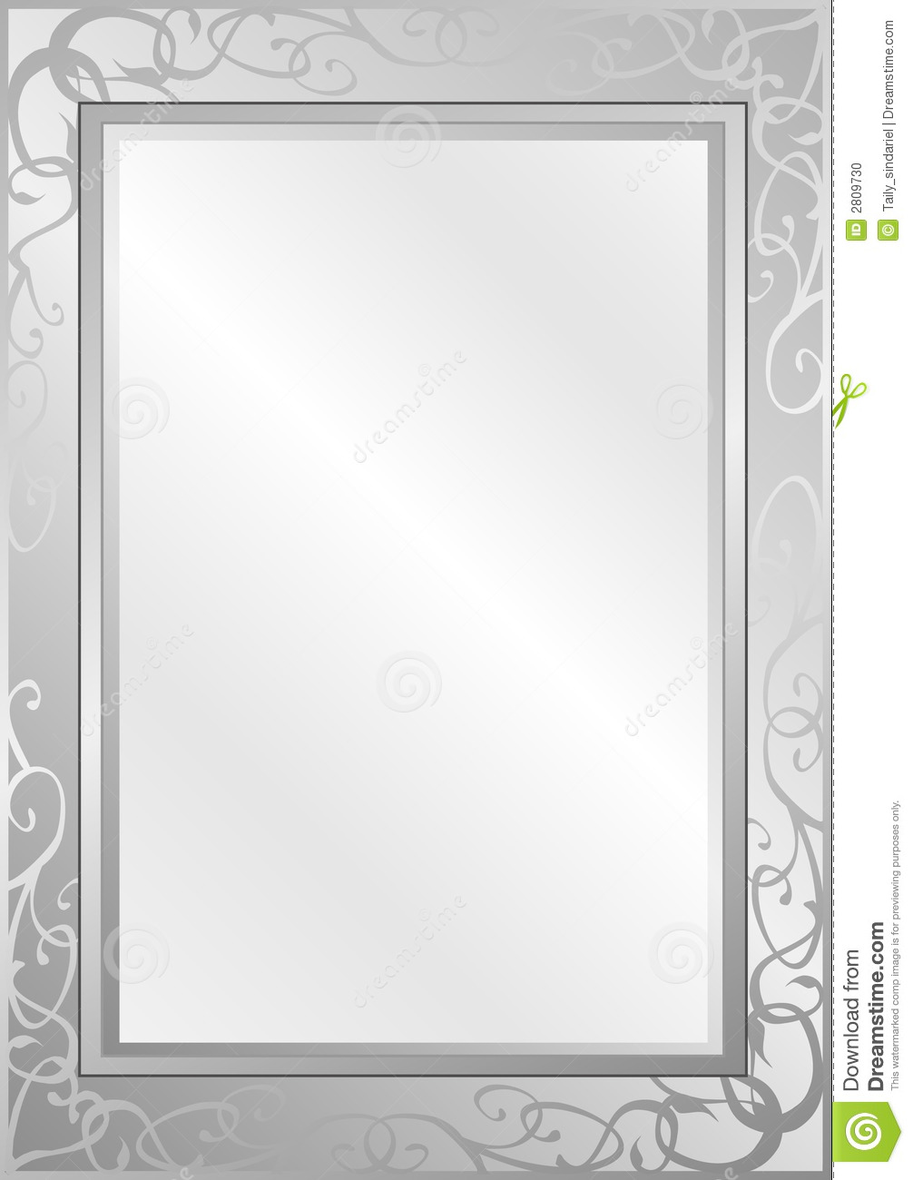 Silver Background Stock Photo - Image: 2809730