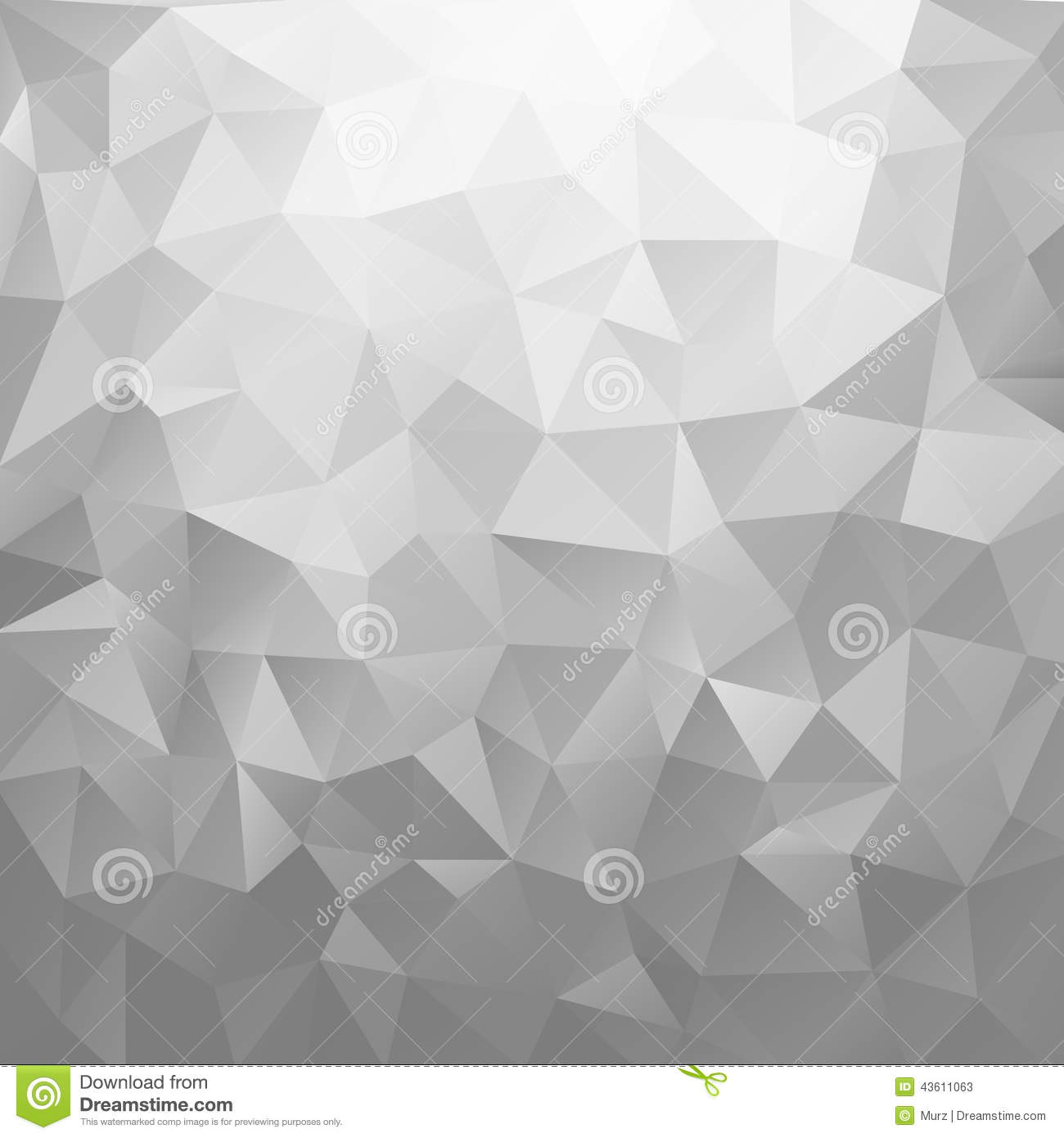 Abstract silver shiny background. Geometric vector illustration.
