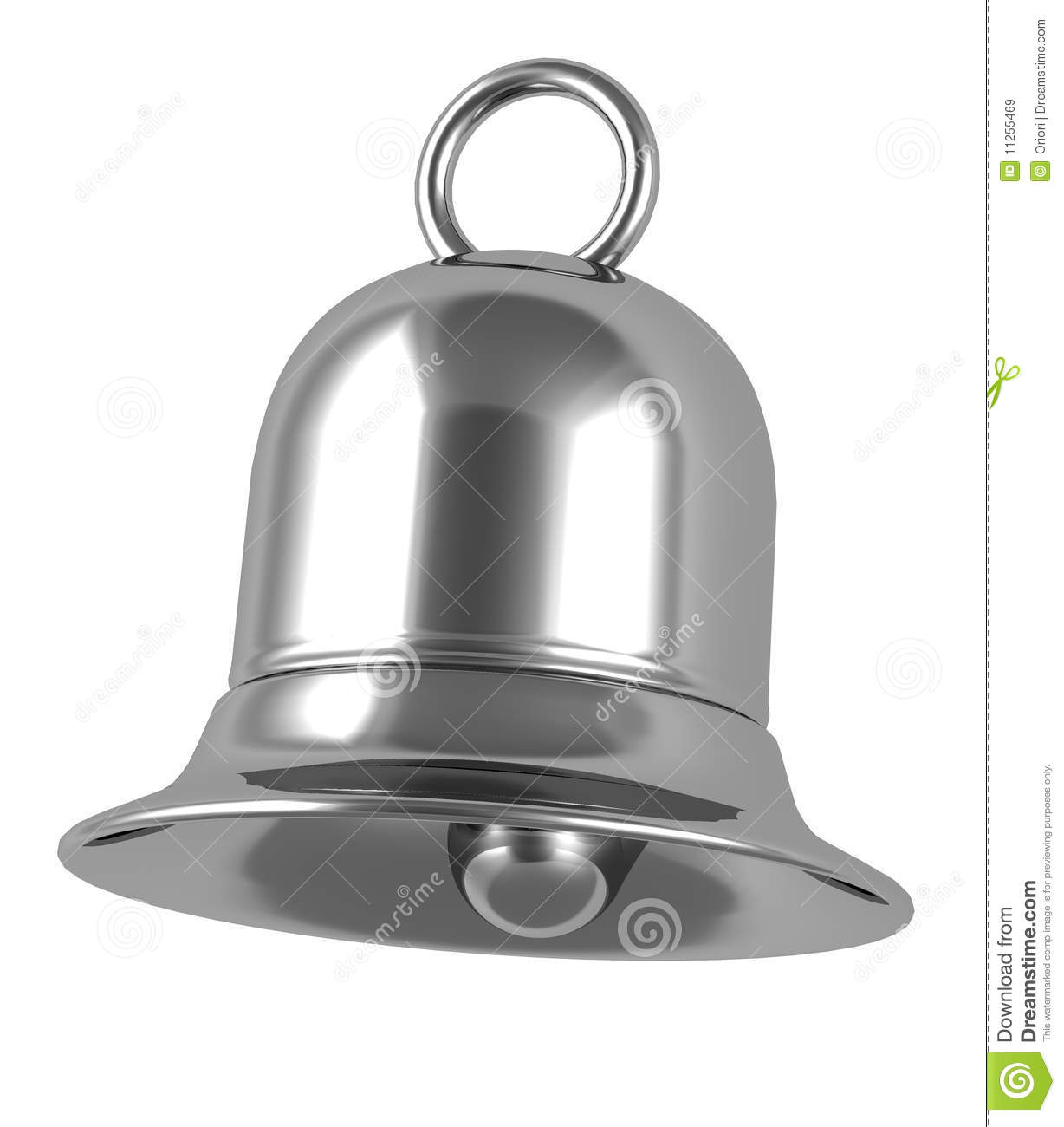 Silver Bell Royalty Free Stock Images - Image: 11255469