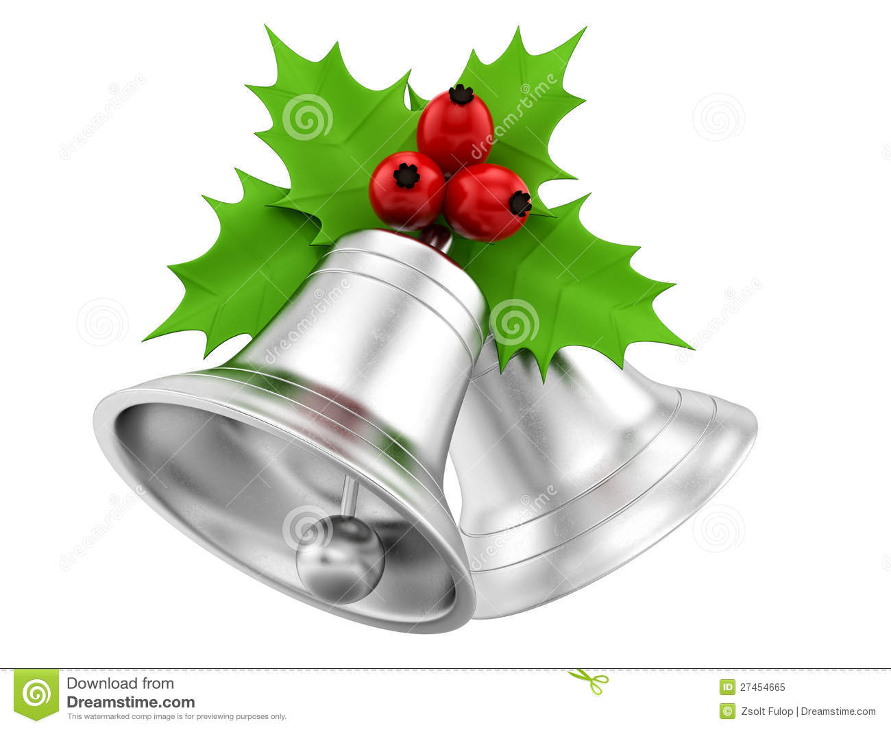 image gallery of christmas silver bells clip art