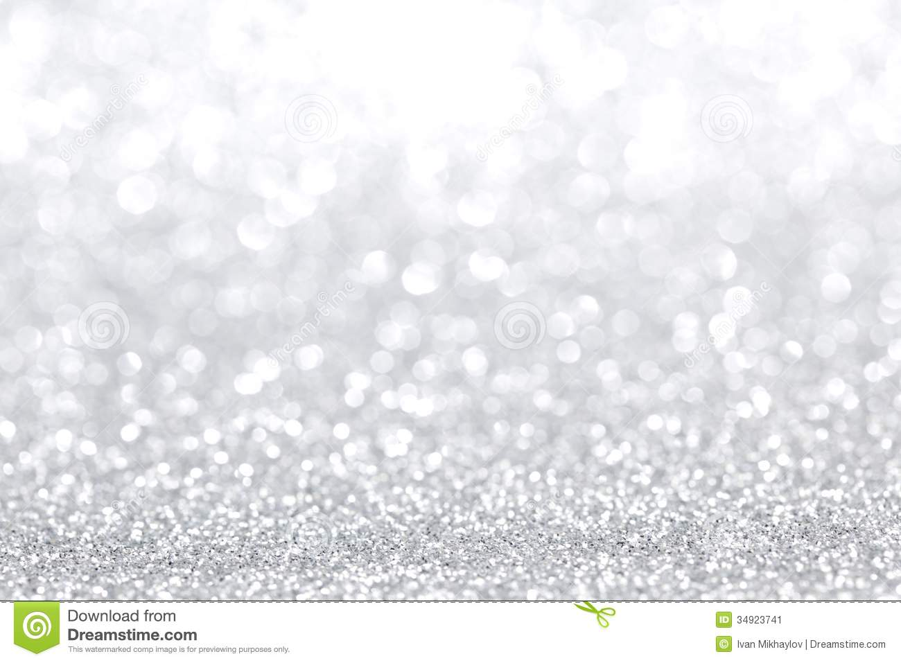 Silver Christmas Background Stock Image - Image: 34923741