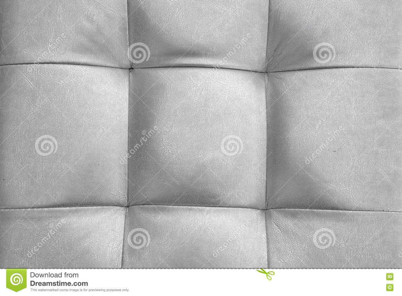Leather cushion texture - Silver Color Natural Leather Cushion Or Pillow Or Puff Backgroun Stock Photo