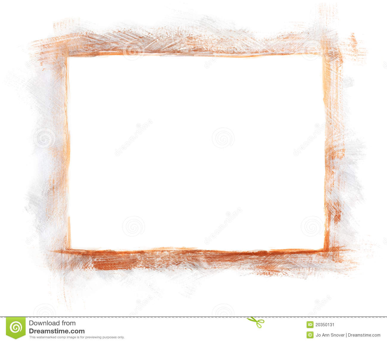 Silver & Copper Painted Border Frame Stock Illustration ...