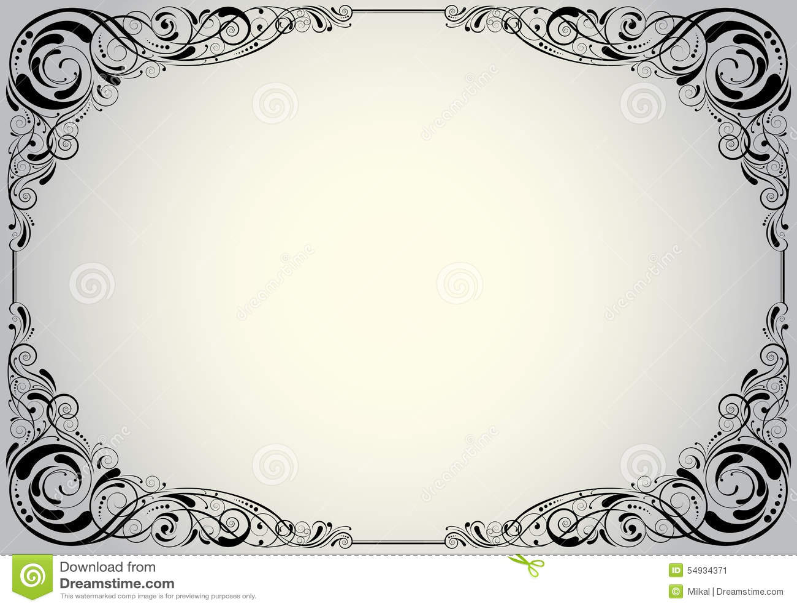 Black Swirl Glasses