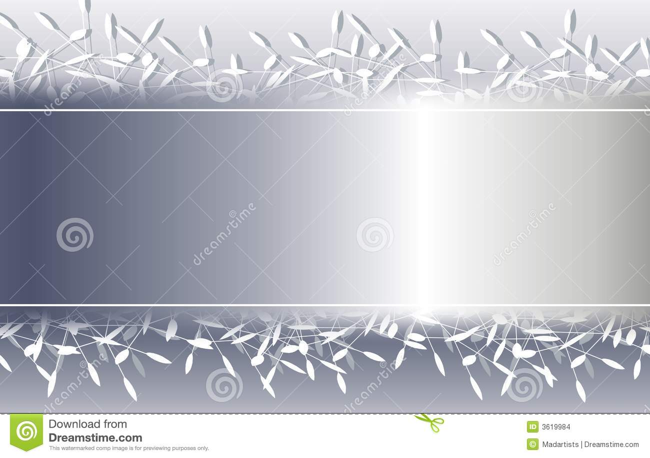 silver decorative christmas background border stock images