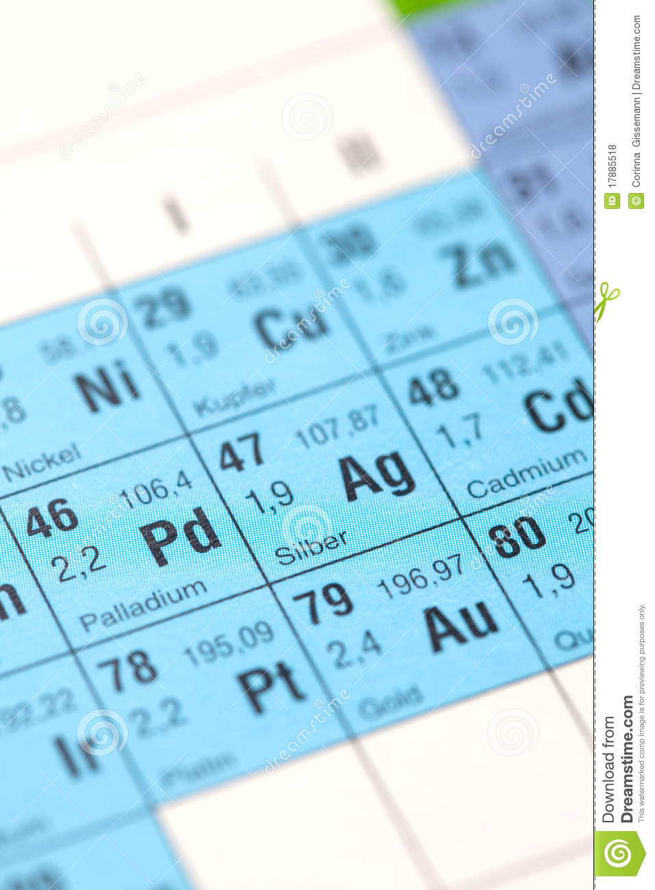 Silver element stock photo image of selective element 17885518 silver element buycottarizona