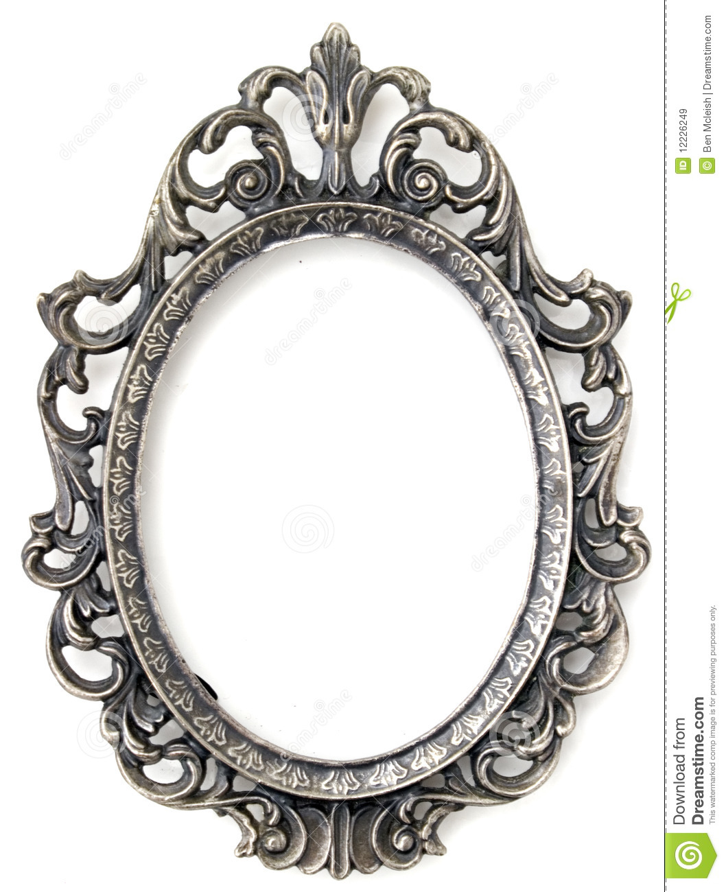 Silver floral frame stock image. Image of detail, photo - 12226249