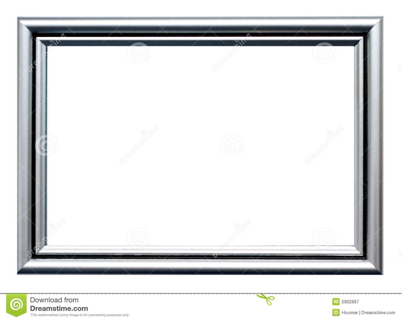 silver frame royalty free stock photography