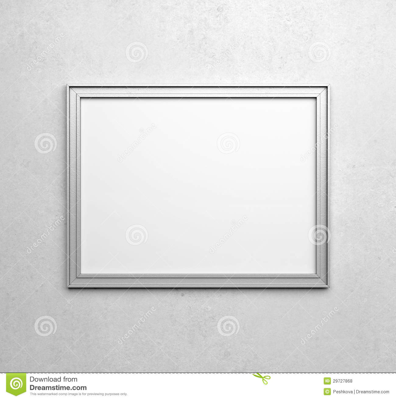 Silver frames stock photo. Image of horizontal, construction - 29727868