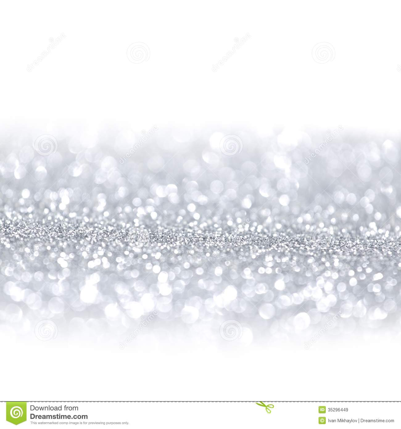 Silver Glitter Background Royalty Free Stock Images - Image: 35296449