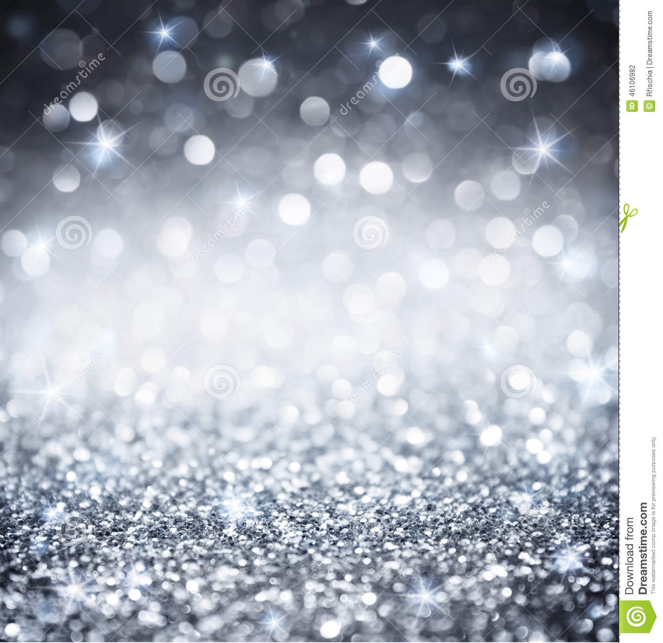 Download Silver Glitter - Shiny For Christmas Stock Photo - Image of silver, background: 46106982