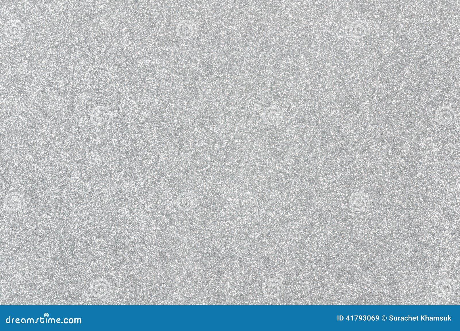 Silver glitter texture background