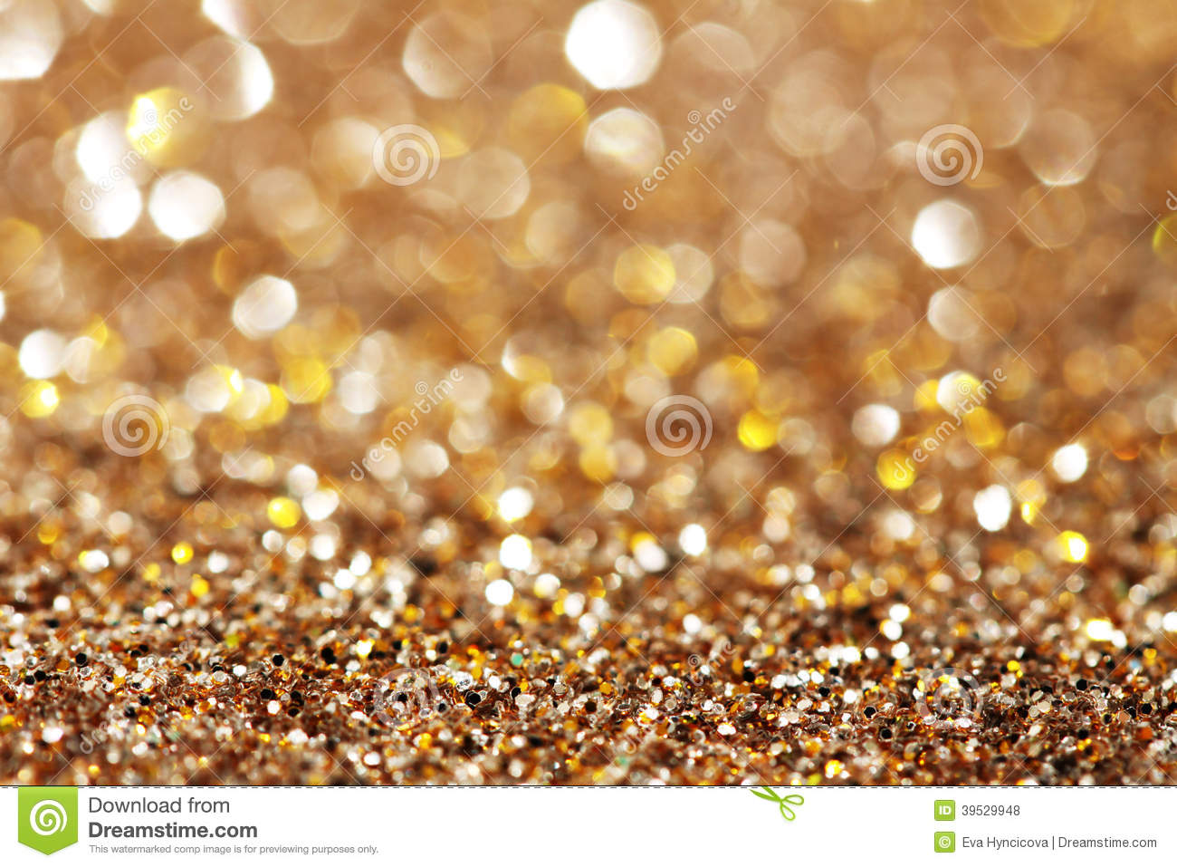 Gold and silver sparkle background