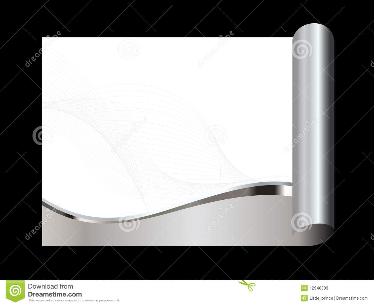 Silver, gray and white abstract background