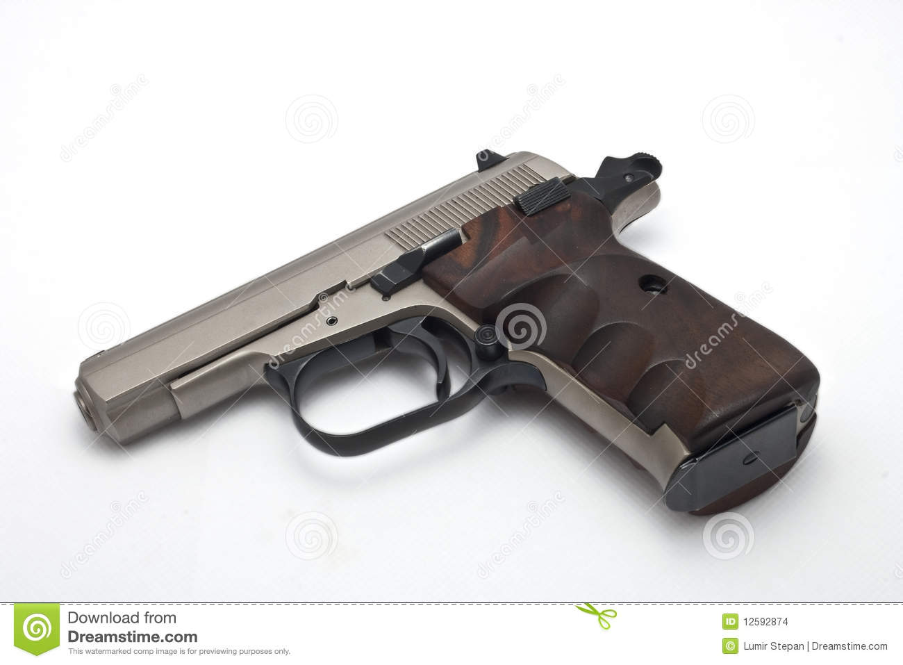 gun white background - photo #23