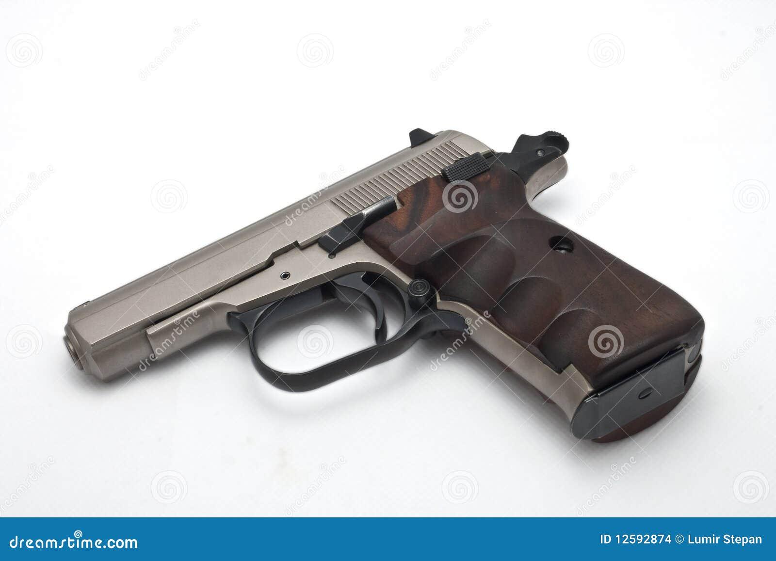 gun white background - photo #23