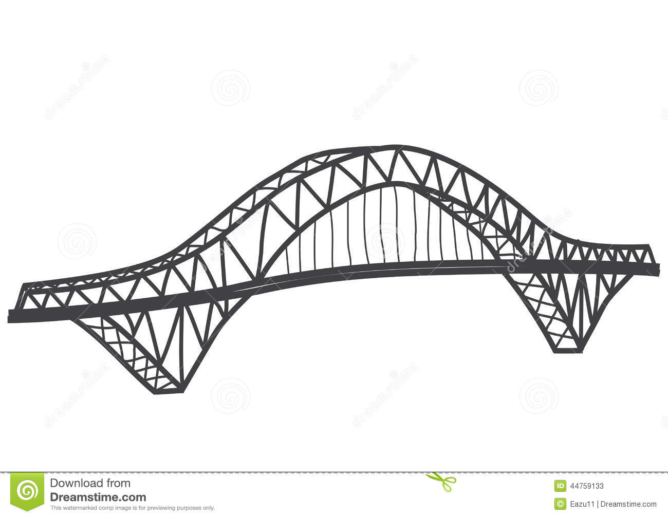 how to draw a bridge in illustrator