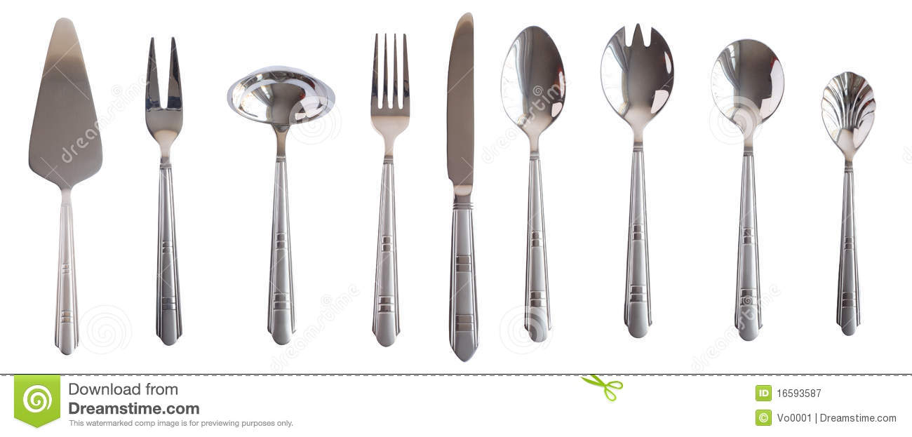 how to set up a table with spoons and forks