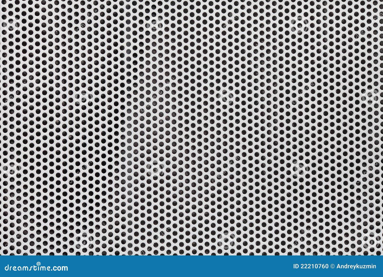 Decorative Metal Grates Silver Metal Grate Background Stock Photo Image 22210760