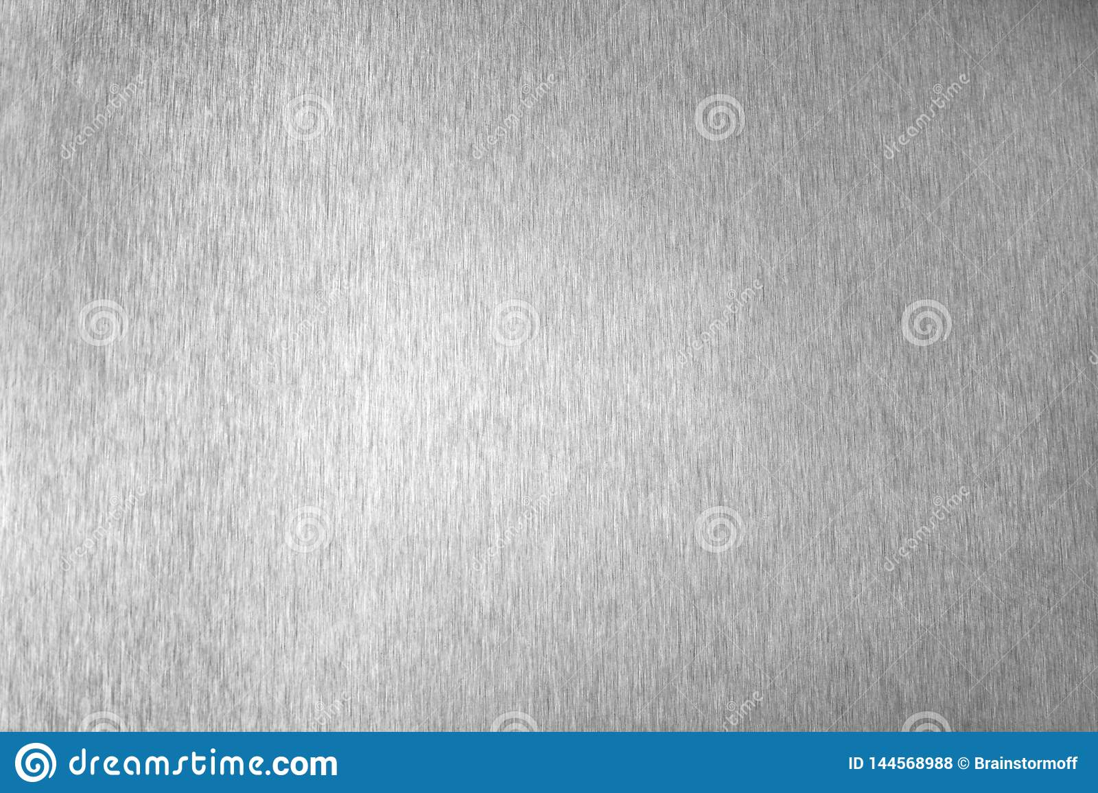 Silver metal shiny empty surface, monochrome shining metallic background, brushed black and white iron sheet backdrop close up