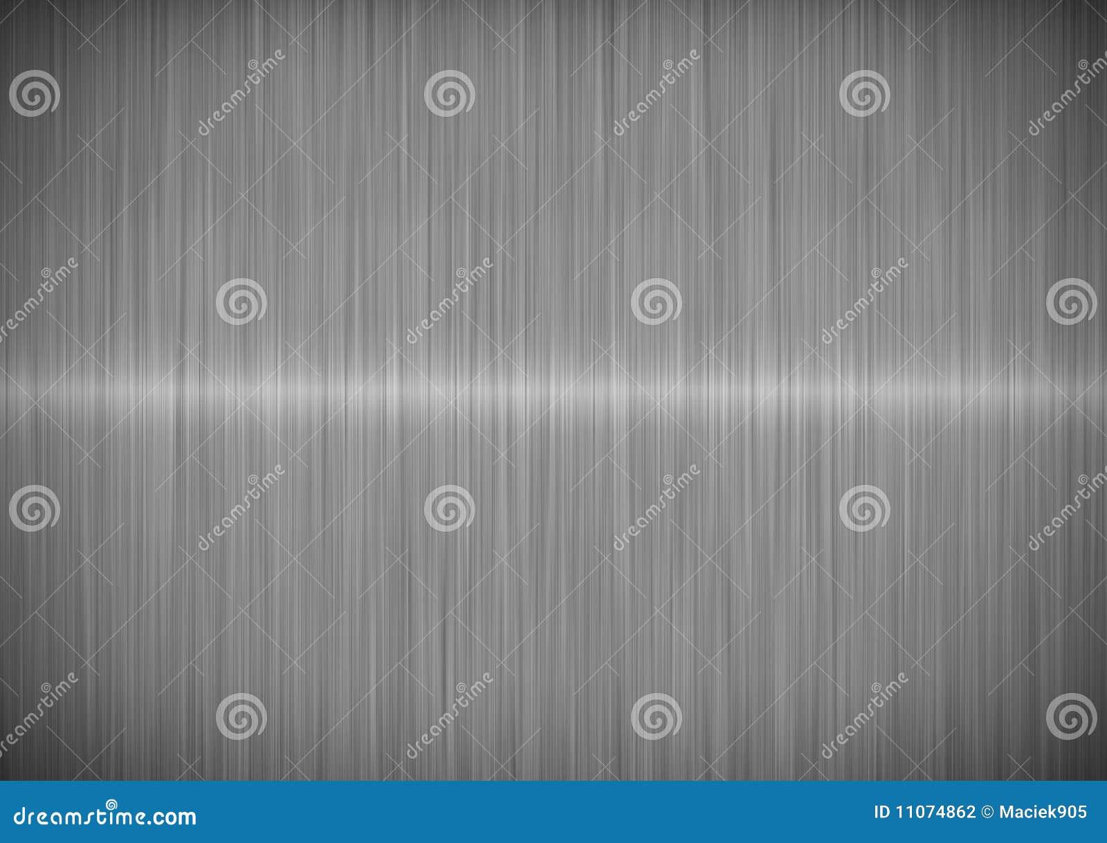 Silver metallic steel background