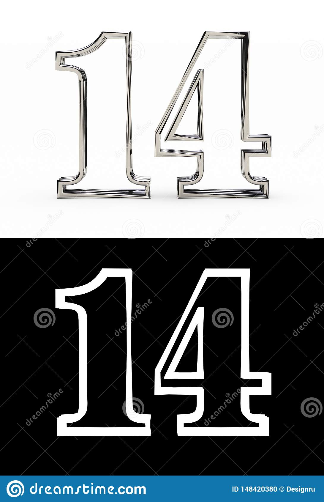 Silver number fourteen years
