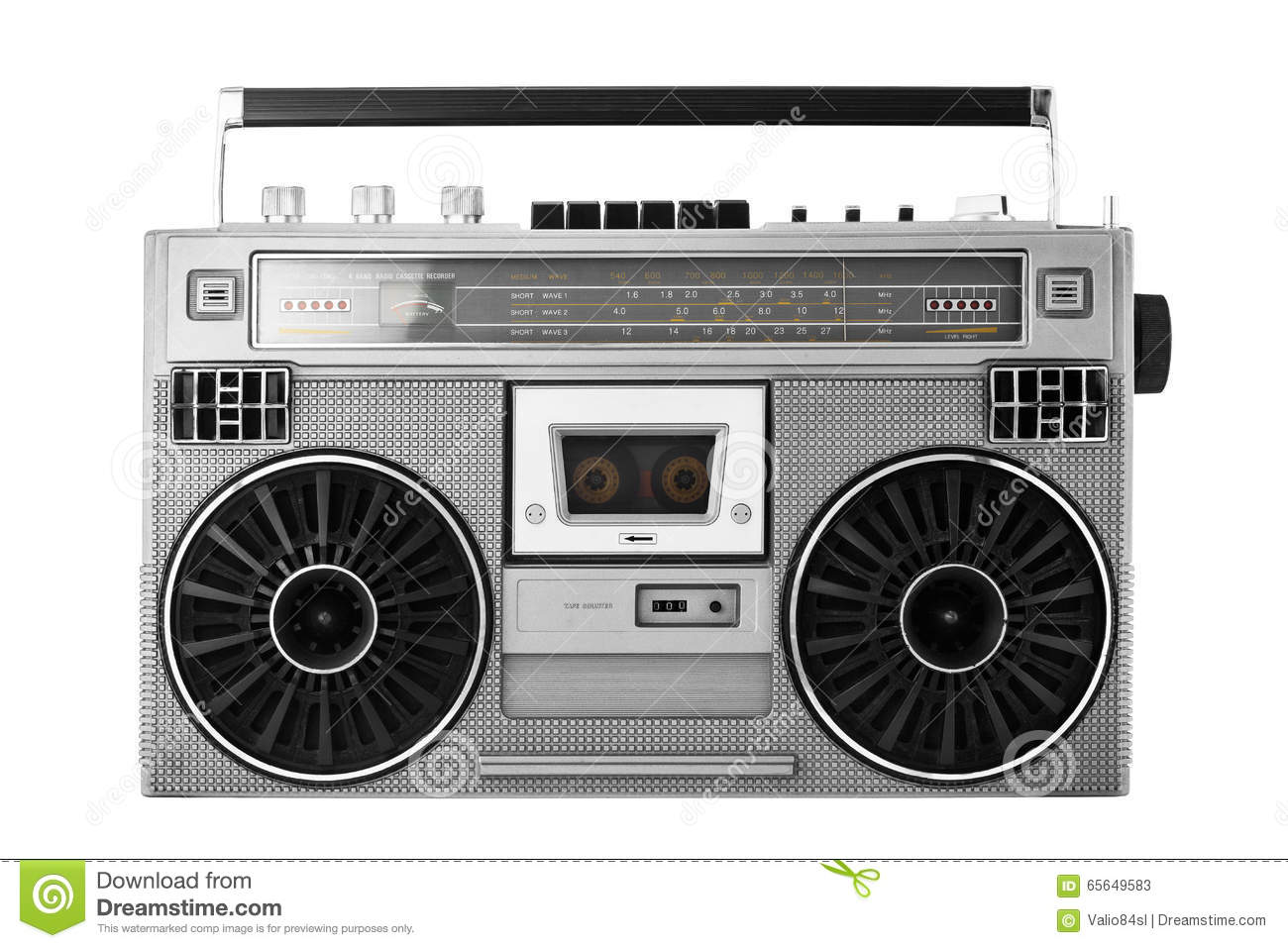 Old School Boombox Royalty Free Stock Images - Image: 19638469