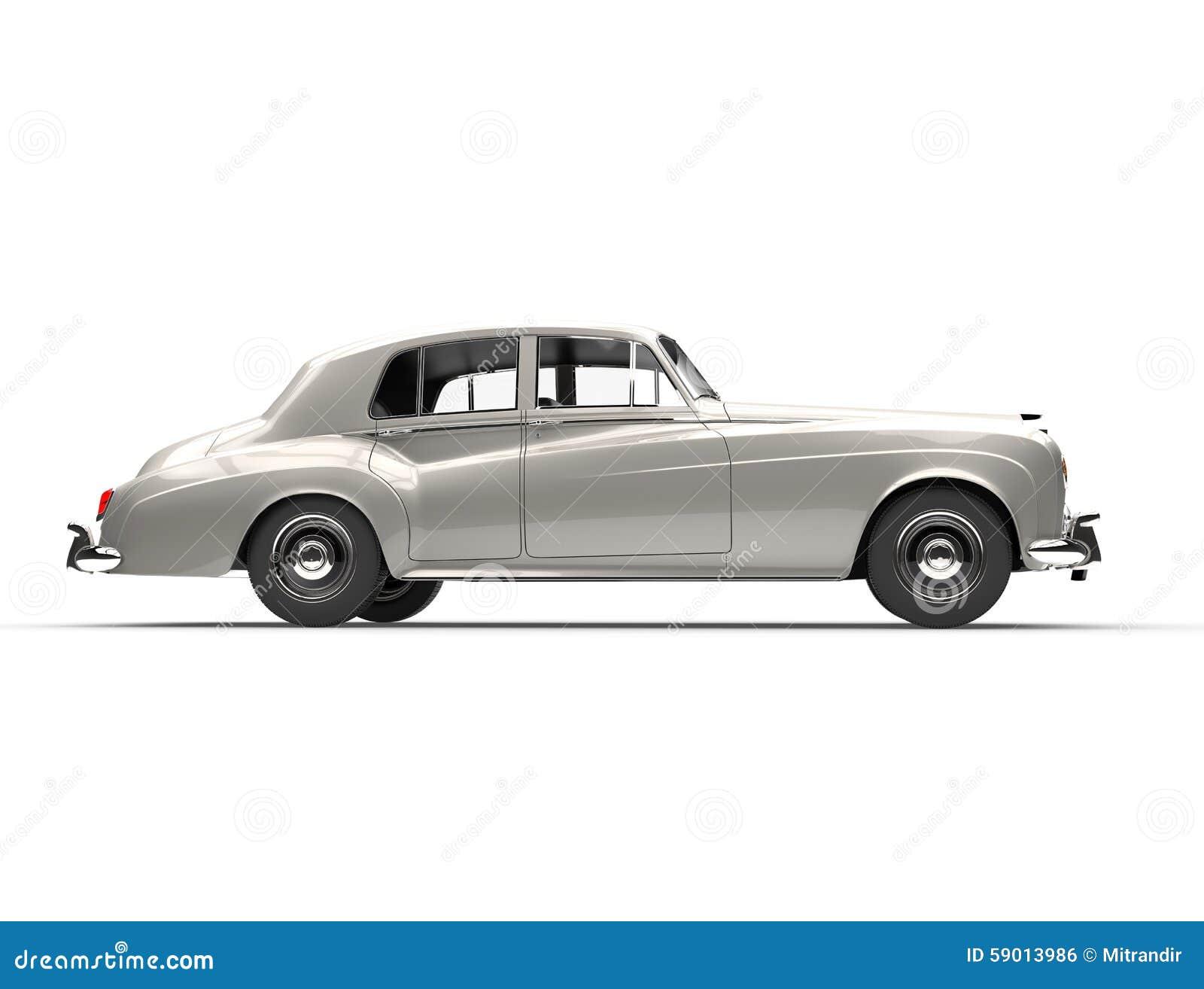 Silver oldtimer