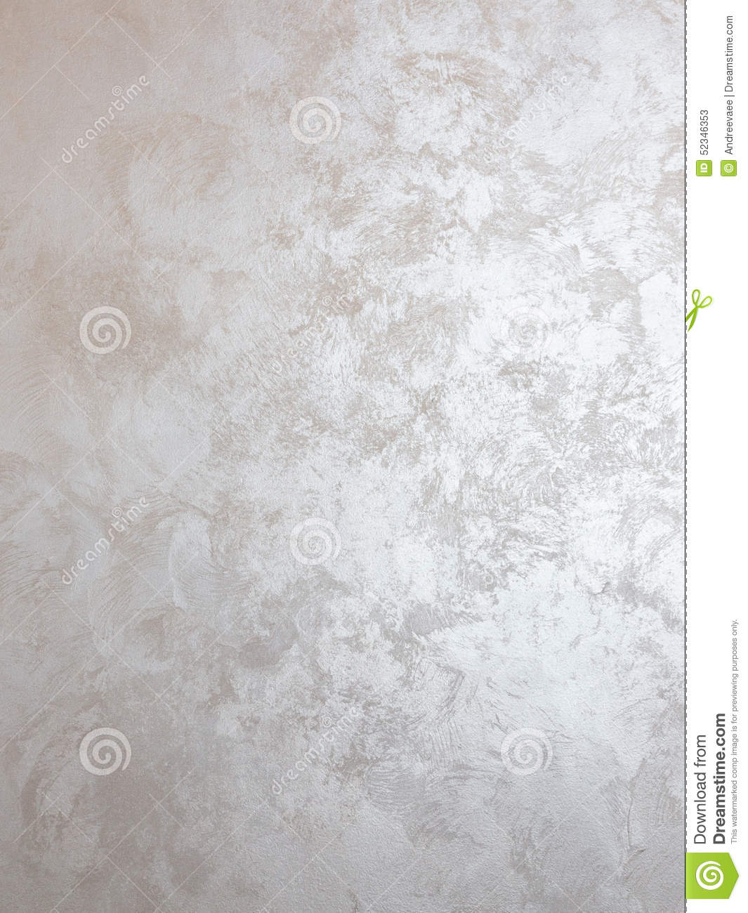 Silver paint on the wall stock image image of design for How to make silver paint